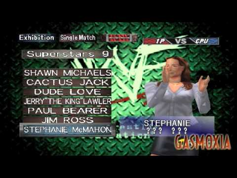 WWF Wrestlemania 2000 – All Characters