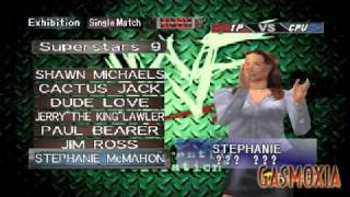 WWF Wrestlemania 2000 - All Characters