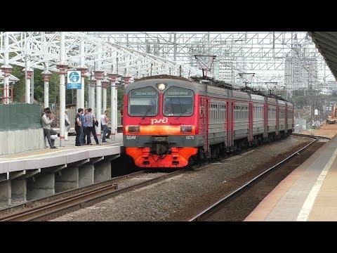 Электропоезд ЭД4М-0275 платформа Рабочий Посёлок