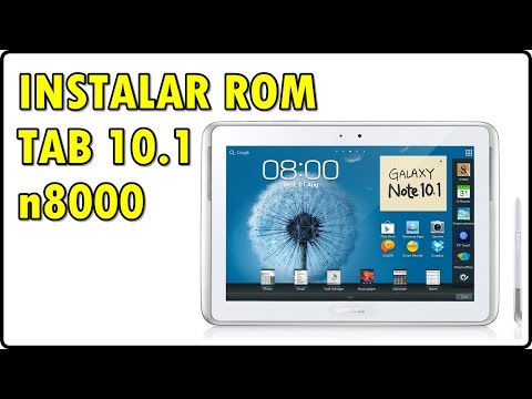 Como INSTALAR A ROM Original De Fábrica STOCK ROM || Galaxy NOTE 10.1 - N8000
