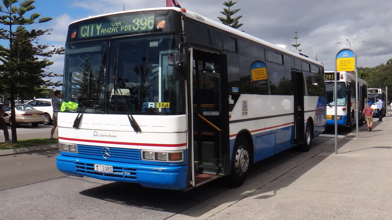 Sydney buses 3385 mercedes benz o405 w3e pmc 160 for Mercedes benz sydney service
