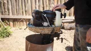 видео Лодочный мотор HDX 5 BMS