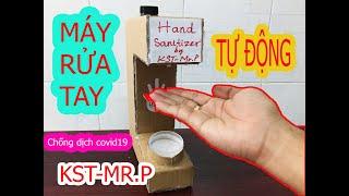 [HOT]KST-Mr.P Cách làm máy rửa tay tự động tại nhà phòng dịch covid-19 anti-epidemic washing machine