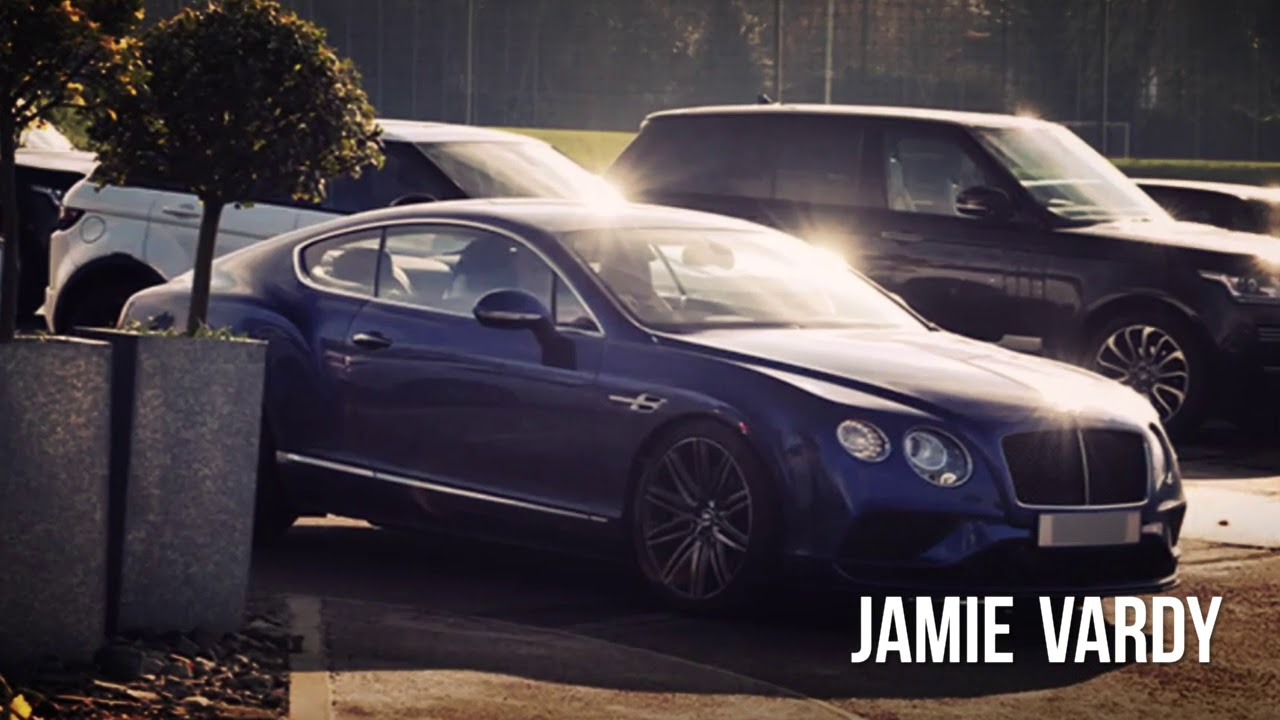 Jamie Vardy Bentley Gt Speed And Bmw I8 Car Collection Youtube