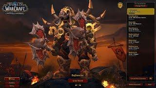 Bajheera - FURIOUS MANA DRAIN: Fury Warrior/DH 3v3 Arena - Fresh 120 Horde Warrior (BFA 8.0)