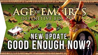 Age of Empires: Definitive Edition ► 1 Year In, Good Enough Now? - New AoE Update, AI & Pathfinding!