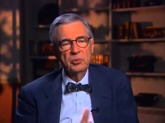 Fred Rogers Look For The Helpers Youtube