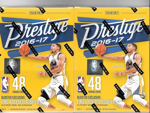 2016 17 Panini Prestige Basketball 2 Retail Blaster Box Break #2 / Great Value