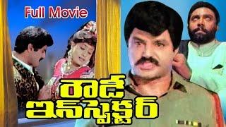 Rowdy Inspector Full Length Telugu Movie || Nandamuri Balakrishna || Ganesh Videos - DVD Rip..