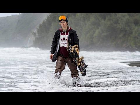 Hawaiian Snowboarder Lyon Farrell Rips Mauna Kea
