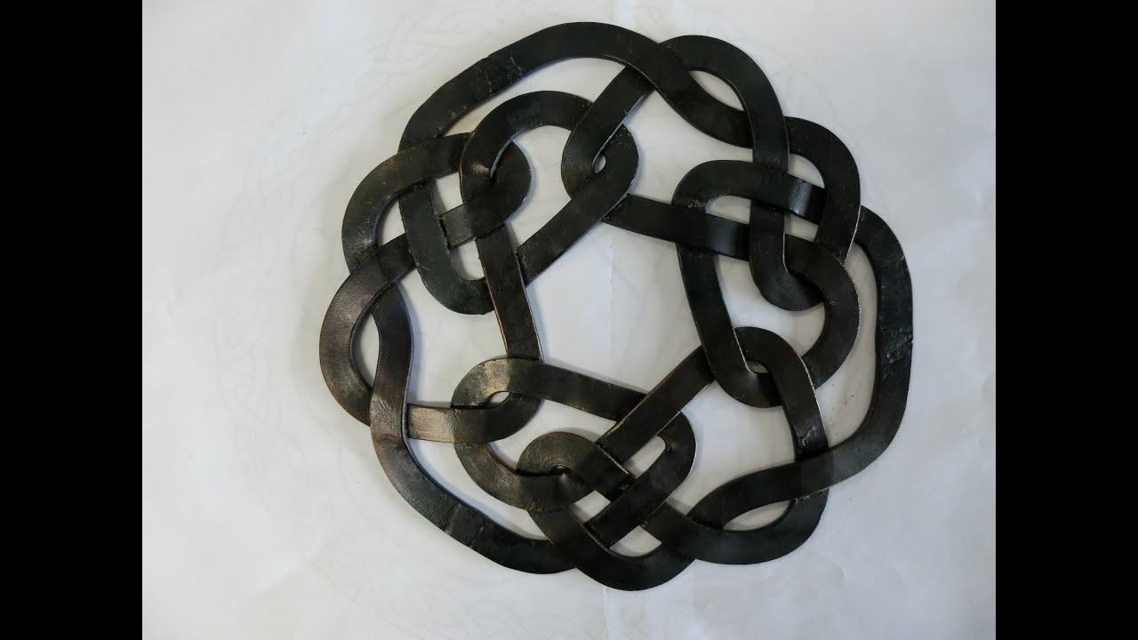 Celtic Knot Trivet Episode 1 of 2 - YouTube