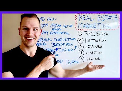 COMPLETE Social Media Marketing Plan for Real Estate Agents 2021
