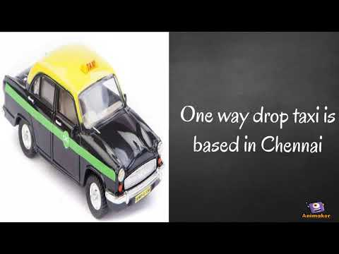 One Way Drop Taxi Outdoor Taxi Service In Chennai Youtube