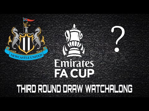 THE EMIRATES FA CUP THIRD ROUND DRAW WATCHALONG | WHO WILL THE TOON GET!