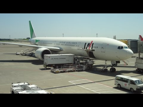 THE SIGHT & THE SOUND : Japan Airlines B 777-346ER JA731J documentary from Tokyo (NRT) to Frankfurt
