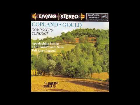 Aaron Copland, Boston Symphony Orchestra ‎– Appalachian Spring / The Tender Land - Suite (1960 LP)