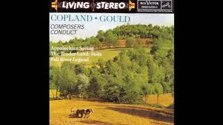 Aaron Copland, Boston Symphony Orchestra – Appalachian Spring / The Tender Land - Suite (1960 LP)