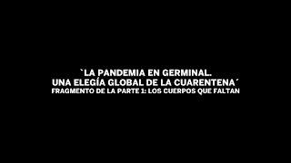 Fragmento de la obra: 'La pandemia en germinal. Una elegía global de la cuarentena'