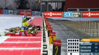 Семеренко завоевала серебро на этапе Кубка мира по биатлону