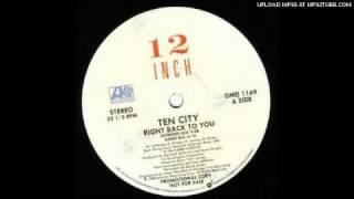 Ten City - Right Back to You (Extended Mi