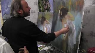 Игорь Сахаров, уроки масляной живописи для начинающих