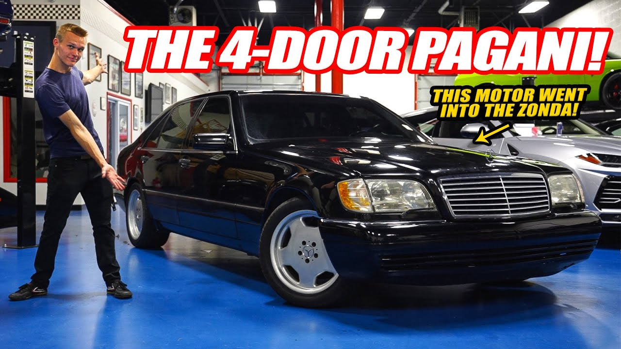 The Mercedes W/ The PAGANI ZONDA V12!! The W140 S600: The Greatest S Class Ever Built!
