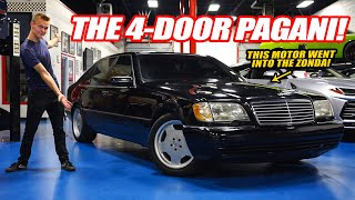 WHY THE W140 S600 WAS THE GREATEST S CLASS EVER MADE! *V12 PAGANI ZONDA MERCEDES*