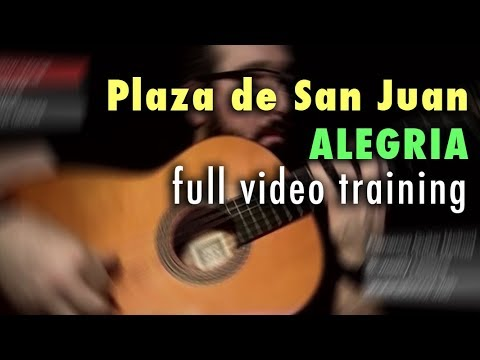 Plaza De San Juan (Alegria) By Paco De Lucia - Full Training - See Description