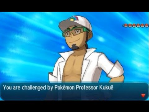 Pokémon Sun and Moon: Champion Title Defense (VS Kukui)