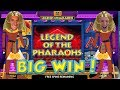BIG WIN!!!! Legend of the Pharaohs BIG BETS - Casino Games - Bonus Round (Casino Slots)
