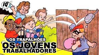 História em quadrinhos dos Trapalhões -  Os jovens trabalhadores
