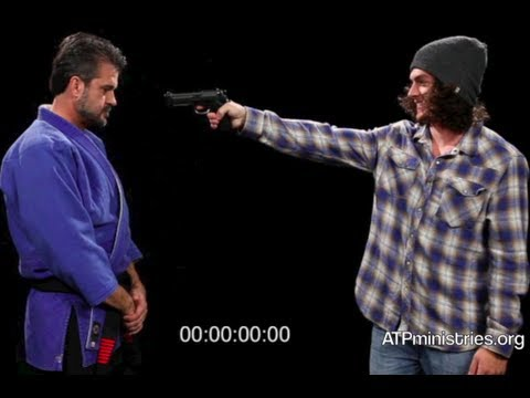 World's Fastest Gun Disarm Man? (.08 second Victor Marx 7th Degree Black Belt)