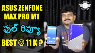 Asus Zenfone Max Pro M1 Review With Pros & Cons ll in telugu ll