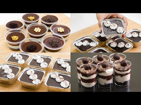 3 EASY NO-BAKE DESSERT CUP L EGGLESS DESSERT CUP L WITHOUT OVEN