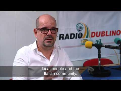 ELL 2015 Language Ambassador - Maurizio Pittau, Radio Dublino