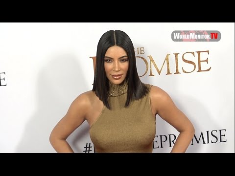 Kim Kardashian Too Hot for 'The Promise' Los Angeles film premiere