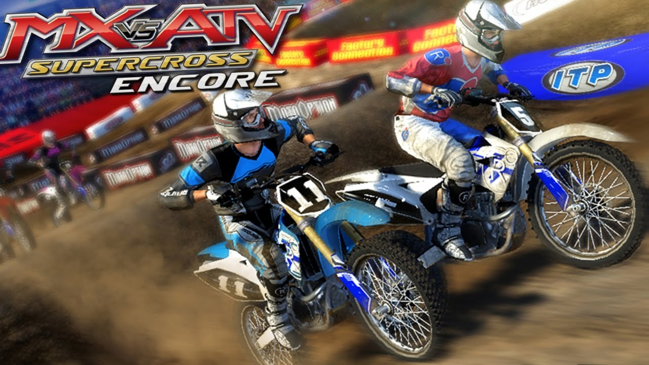 mx vs atv supercross encore ps4 game review youtube. Black Bedroom Furniture Sets. Home Design Ideas