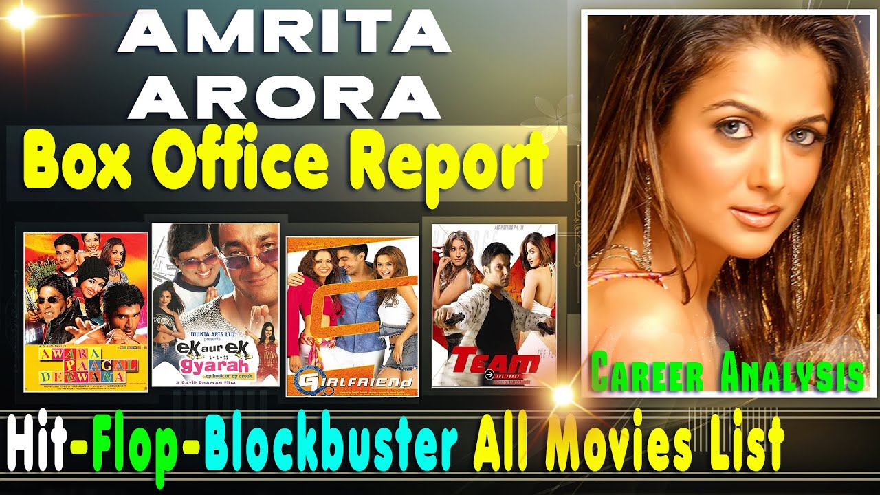 Download Amrita Arora Hit and Flop Blockbuster All Movies List with Box Office Collection Analysis