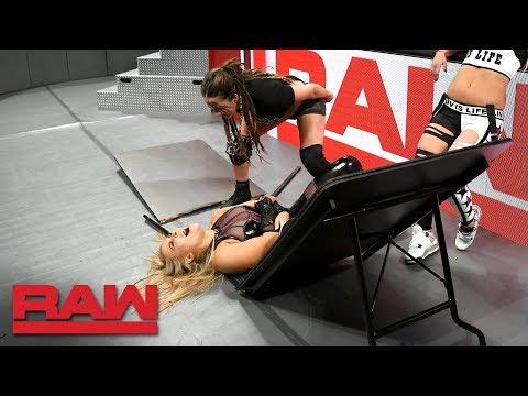 The Riott Squad drive Natalya through a table: Raw, Dec. 3, 2018