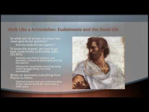 Unit 7 Lecture -The Greek Good Life