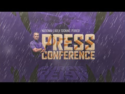 Football: Chris Petersen Signing Day Press Conference