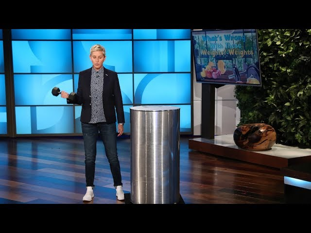 Ellen Takes Her Workout Routine to the Show