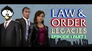 "[Episode 1 Part 1/2] Pac plays: ""Telltale Law & Order: Legacies"" (PC)"