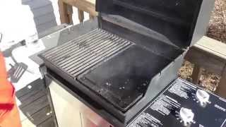 Cast Iron Griddle Demonstration on A Weber Grill -Part 7542