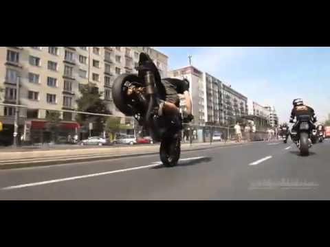 Illegal Street Bike Stunts