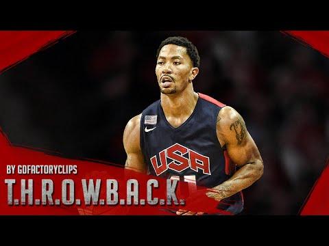 Derrick Rose IS BACK, Full Highlights 2014.08.01 USA Team Showcase - 8 Pts, Vintage!