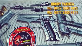Download lagu BRURY YAKUZA - Special Costom Part For WG 321, 323 M84 Baretta & Glock-19..!!!