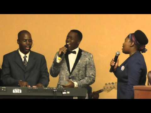 When peace like a river by The VALSAINT Family at Gospel Assembly University