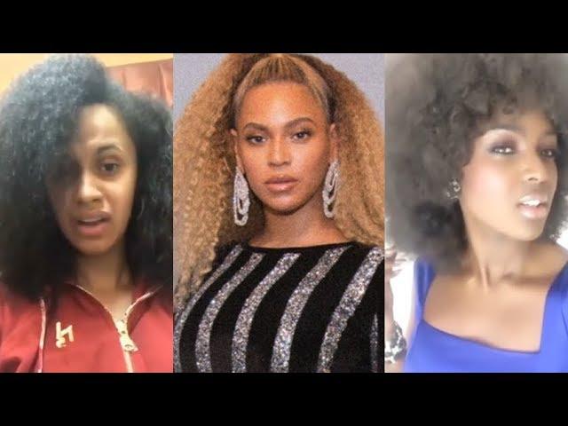 cardi-b-beyonce-amara-la-negra-etc-natural-hair-celebrities