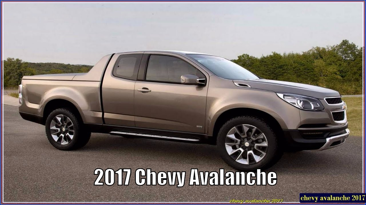 Chevy Avalanche 2017 Interior, Exterior, Price and Release ...